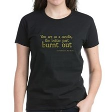 Candle Burnt Out Tee