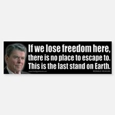 If we lose freedom here... Sticker (Bumper)