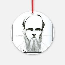 Dostoevsky Ornament (Round)