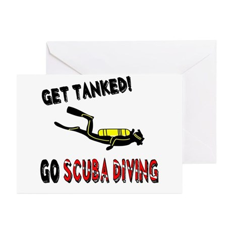 Get Tanked! Greeting Cards (Pk of 10)