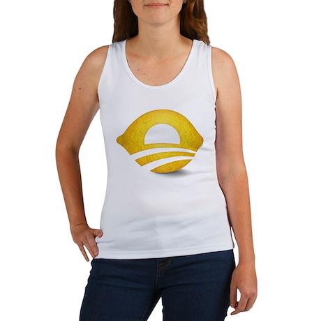 Lemon President Women's Tank Top