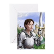 Joan of Arc Greeting Cards (Pk of 20)