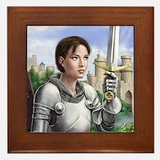 Joan of Arc Framed Tile