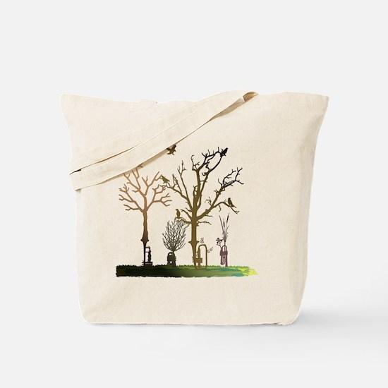 Natural Trumpets Tote Bag