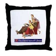 Family Fun Throw Pillow