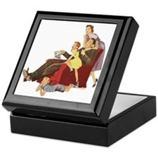 Family Fun Keepsake Box