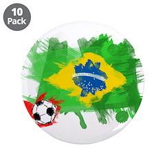 Brazil Soccer Fan 3.5
