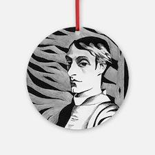 Gerard Manley Hopkins Ornament (Round)