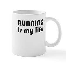Running is my life Mug