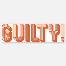Guilty! Car Car Sticker