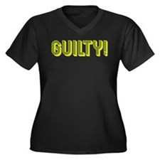 Cute Law and order Women's Plus Size V-Neck Dark T-Shirt