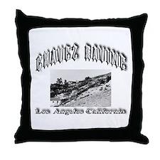 Chavez Ravine Throw Pillow