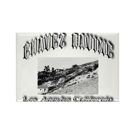 Chavez Ravine Rectangle Magnet (100 pack)