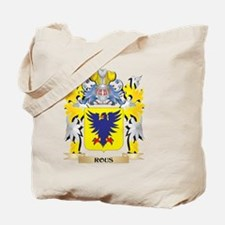 Rous Family Crest - Coat of Arms Tote Bag
