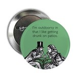 "Drunk On Patios 2.25"" Button"