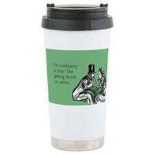 Drunk On Patios Stainless Steel Travel Mug