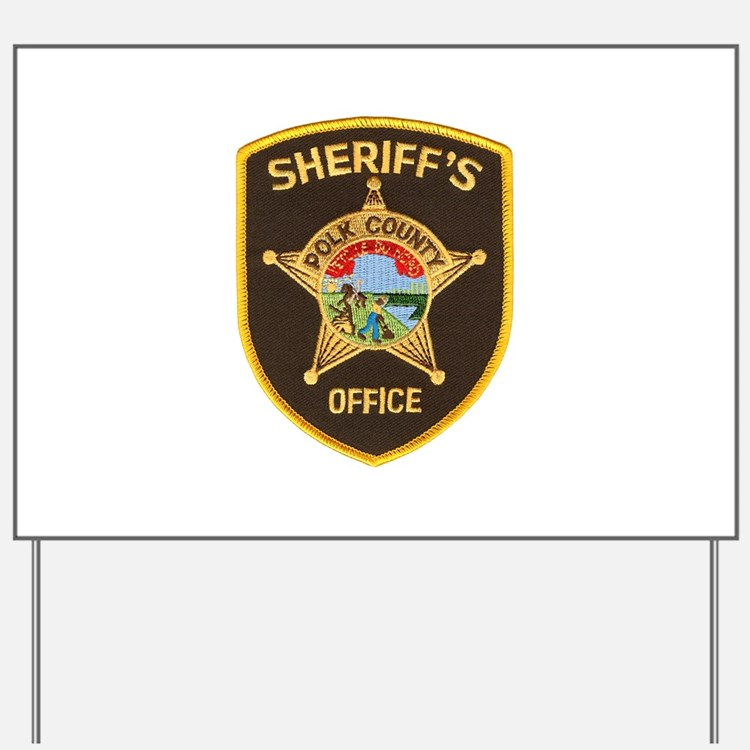 Polk County Sheriff Yard Sign