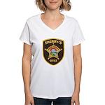 Polk County Sheriff Women's V-Neck T-Shirt