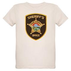 Polk County Sheriff Organic Kids T-Shirt