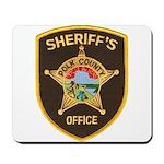 Polk County Sheriff Mousepad
