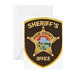 Polk County Sheriff Greeting Cards (Pk of 10)