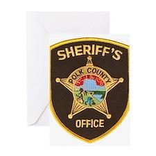 Polk County Sheriff Greeting Card