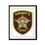 Polk County Sheriff Framed Panel Print