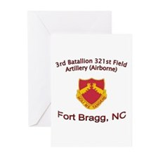 3rd Bn 321st FA Greeting Cards (Pk of 10)