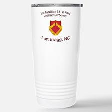 3rd Bn 321st FA Stainless Steel Travel Mug