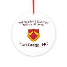3rd Bn 321st FA Ornament (Round)