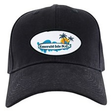 Emerald Isle NC - Surf Design Baseball Hat