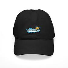 Emerald Isle NC - Surf Design Baseball Hat