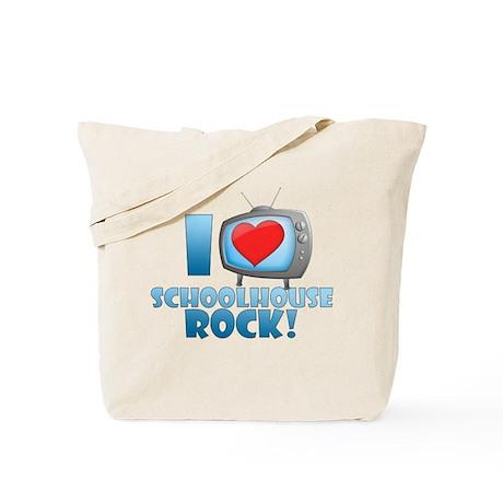 I Heart Schoolhouse Rock Tote Bag