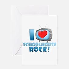 I Heart Schoolhouse Rock Greeting Card