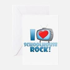 I Heart Schoolhouse Rock Greeting Cards (Pk of 10)