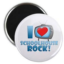 "I Heart Schoolhouse Rock 2.25"" Magnet (10 pac"