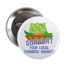 "Farmers Market 2.25"" Button (100 pack)"