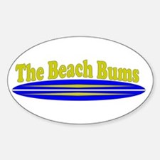 The Beach Bums Decal