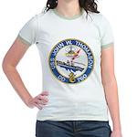 USS JOHN W. THOMASON Jr. Ringer T-Shirt
