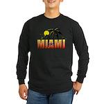 Miami Long Sleeve Dark T-Shirt