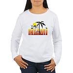 Miami Women's Long Sleeve T-Shirt