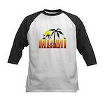 Miami Kids Baseball Jersey