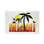 Miami Rectangle Magnet