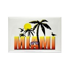 Miami Rectangle Magnet