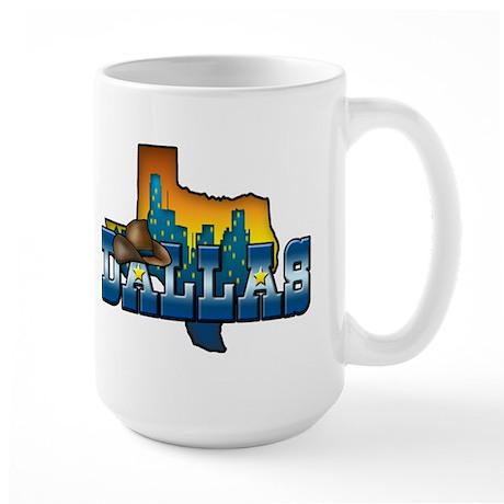Dallas Large Mug