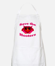 Save the Hooters v2.0 BBQ Apron