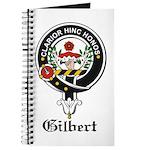 Gilbert Clan Crest Badge Journal