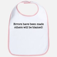 Errors have been made Bib