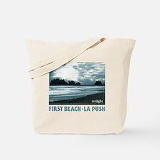 Unique Twilight beach Tote Bag