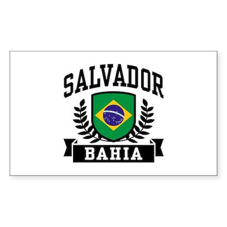 Salvador Bahia Brazil Sticker (Rectangle)